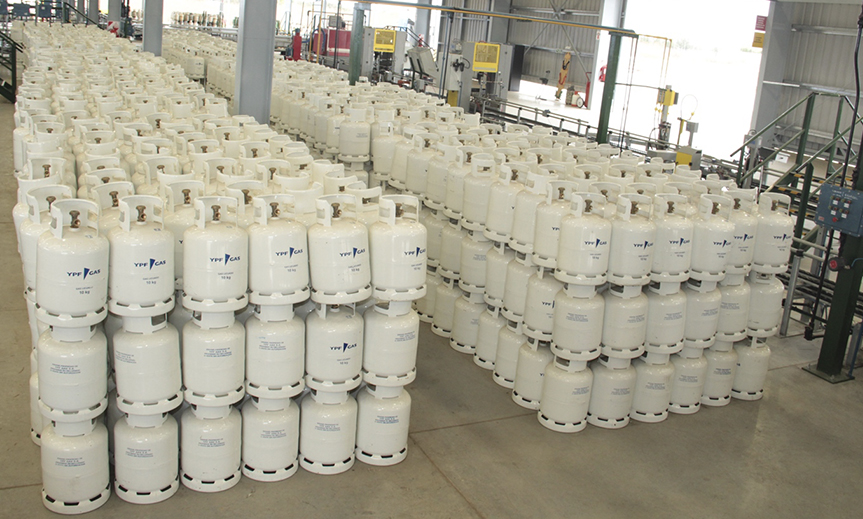 YPF Gas inauguró una nueva planta de gas envasado en la provincia de Salta